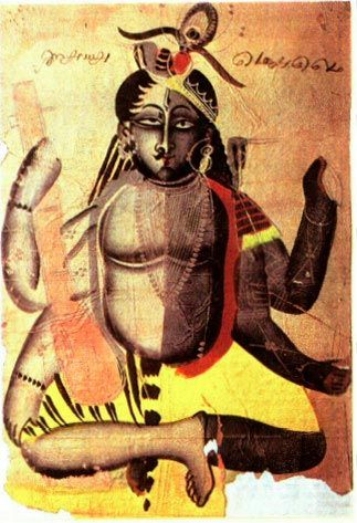 Shiva and Kali union man and woman in tantra