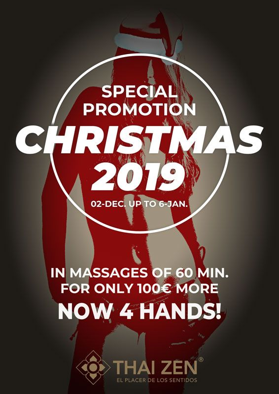 Christmas promotion erotic massage Barcelona