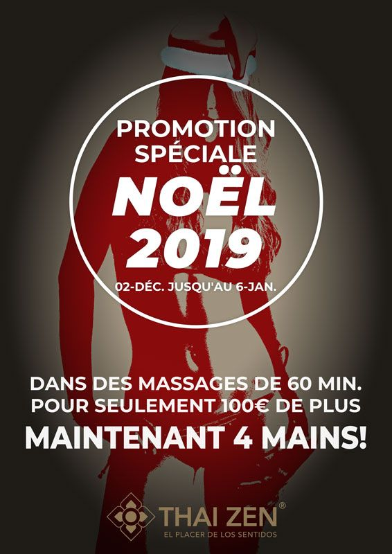 Promotion de Noël massage erotique Barcelone