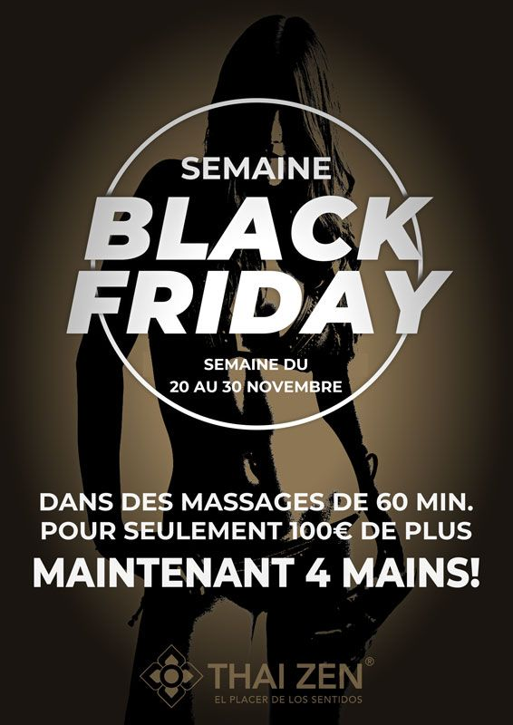 Black Friday massage erotique Barcelona